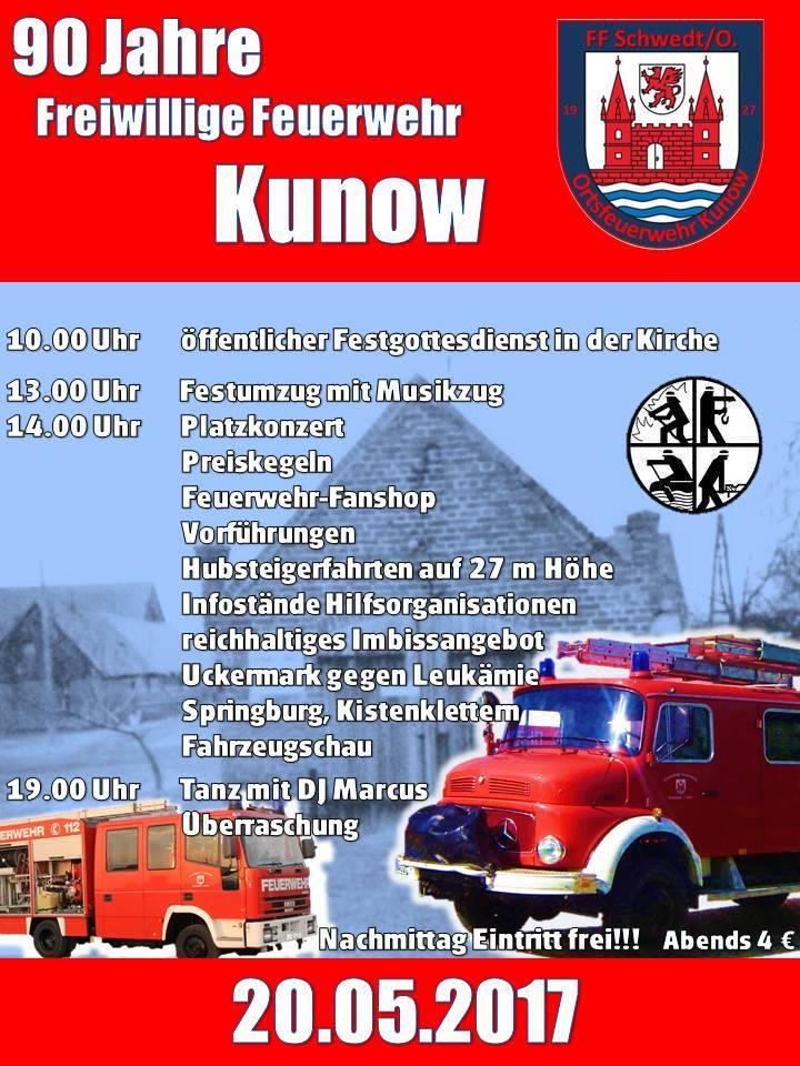 90 Jahre FF Kunow