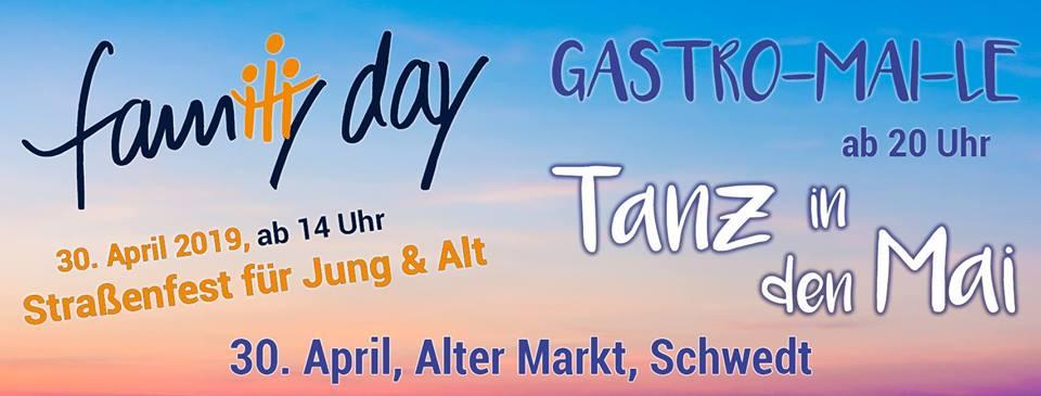 Family Day und Gastro-Mai-Le in Schwedt