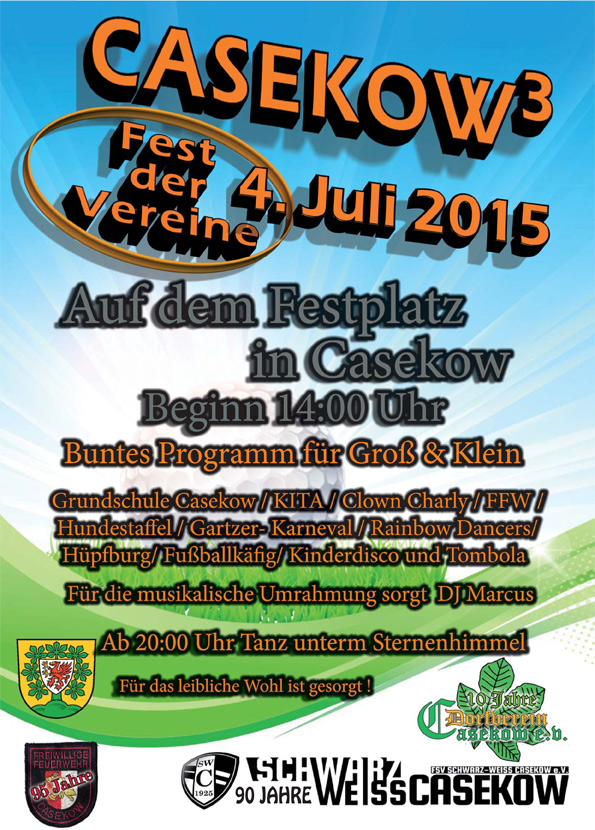 Fest der Vereine in Casekow