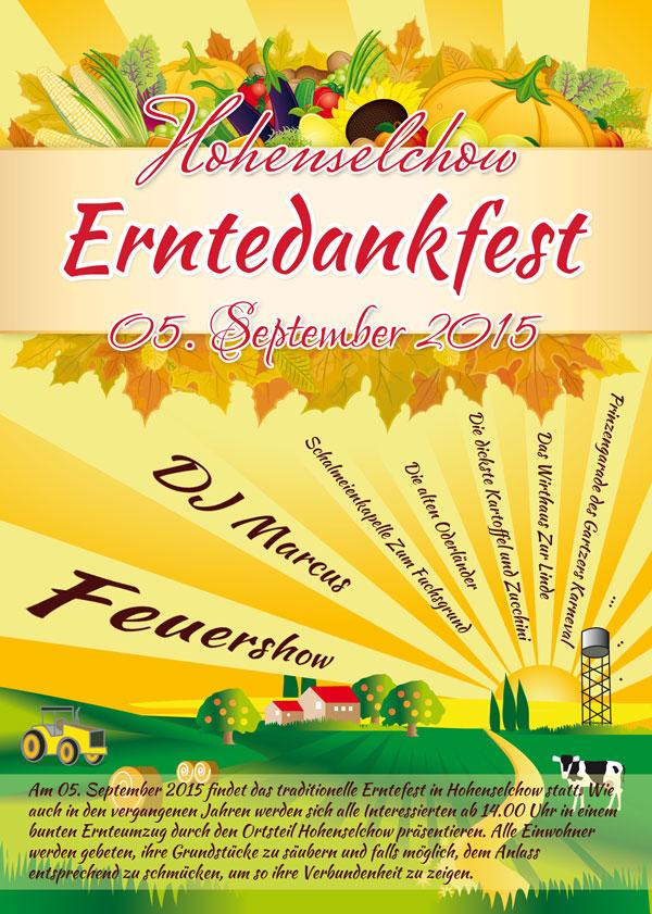 Erntefest in Hohenselchow